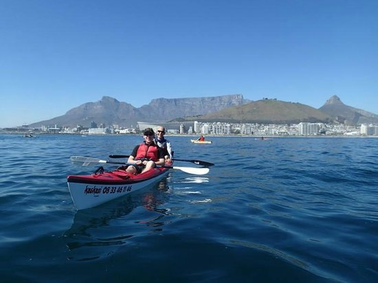 kayaking cape town