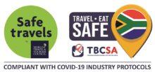 White Shark Diving Company Travel Safe Badge